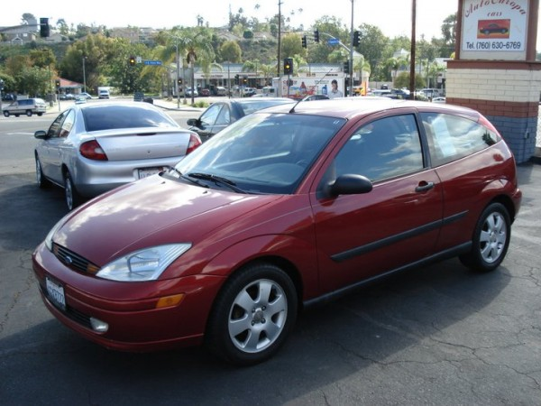 2001 Used Ford Focus Color Red For Sale In