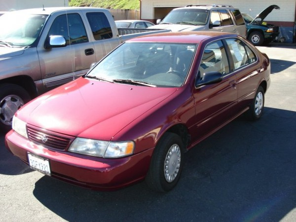 1997 Used Nissan Sentra Color Red For Sale in