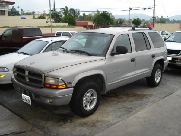 2000 Used Dodge Durango Color Silver For Sale In