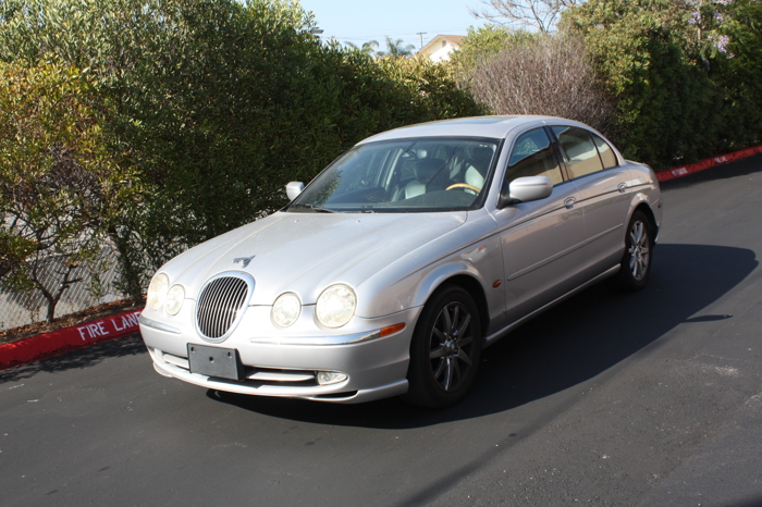 2000 used jaguar x-type color gris for sale in